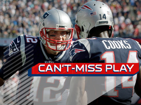 Watch: Can't-Miss Play: Brady fires to Cooks for game-winning toe-tap TD