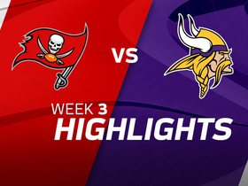 Buccaneers vs. Vikings highlights | Week 3