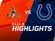 Watch: Browns vs. Colts highlights | Week 3
