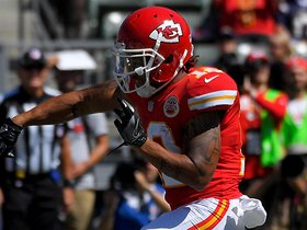 Watch: Albert Wilson catches 6-yard TD pass