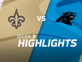 Watch: Saints vs. Panthers highlights | Week 3