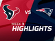 Watch: Texans vs. Patriots highlights | Week 3