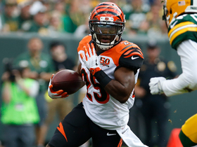 Watch: Giovani Bernard breaks free for 25 yards on run