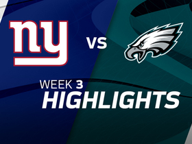 Giants vs. Eagles highlights | Week 3