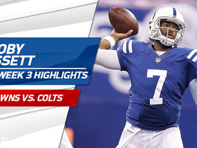 Watch: Jacoby Brissett highlights | Week 3