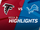Watch: Falcons vs. Lions highlights | Week 3