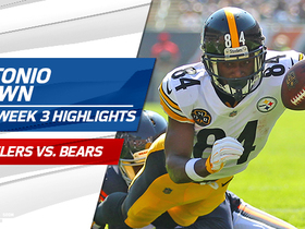 Antonio Brown highlights | Week 3