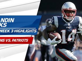 Watch: Brandin Cooks highlights | Week 3