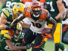A.J. Green pulls in 500th career reception