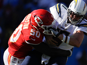 Watch: Justin Houston takes down Philip Rivers