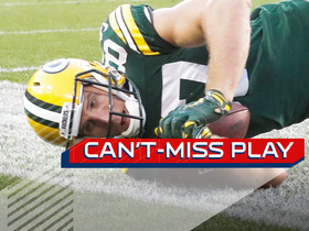 Watch: Can't-Miss Play: Aaron Rodgers forces OT on TD pass to Nelson