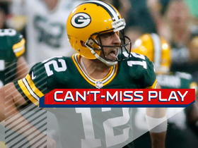Can't-Miss Play: Rodgers makes unbelievable throw to Allison for HUGE 72-yard gain in OT