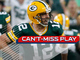 Watch: Can't-Miss Play: Rodgers makes unbelievable throw to Allison for HUGE 72-yard gain in OT