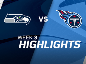 Seahawks vs. Titans highlights | Week 3