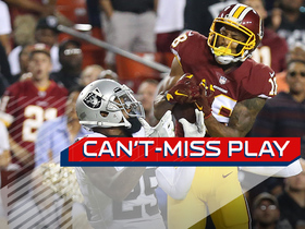 Can't-Miss Play: Doctson MOSSES David Amerson for 52-yard TD