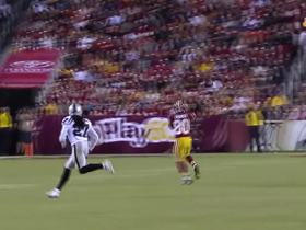 Watch: Kirk Cousins throws to Jamison Crowder for 30 yards