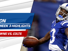 Watch: T.Y. Hilton erupts for 153-yard game vs. Browns