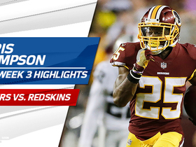 Watch: Chris Thompson highlights | Week 3