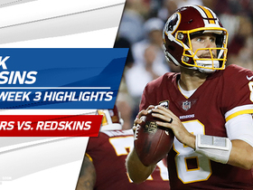 Watch: Kirk Cousins highlights | Week 3