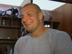 Watch: Rob Gronkowski: Patriots always have good energy in pressure situations
