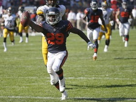 Watch: Reggie Bush: Tarik Cohen's vision, speed, cutback ability is impressive