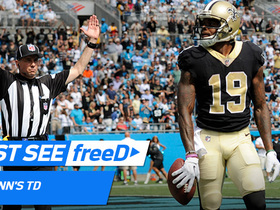 Watch: freeD: Ted Ginn makes 40-yard TD grab vs. former team
