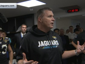 Watch: Doug Marrone pumps up the Jaguars after defeating the Ravens in Week 3