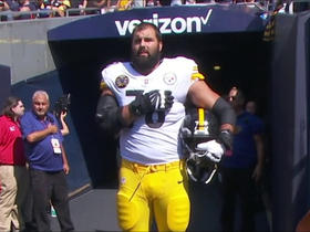 Watch: Aditi Kinkhabwala explains Steelers players reactions to anthem demonstrations