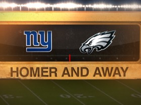 Watch: Homer and Away WK3 : Eagles' Elliott nails 61 yard game-winning field goal