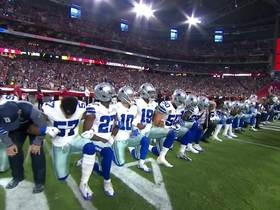 Cowboys and Cardinals share moment of unity