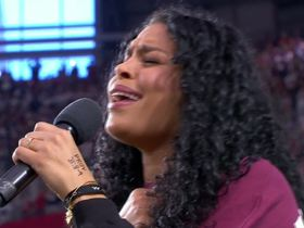 Watch: Jordin Sparks sings the national anthem before the Cowboys vs. Cardinals matchup