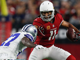 Watch: Larry Fitzgerald has 198th consecutive game with a reception, longest active streak in NFL