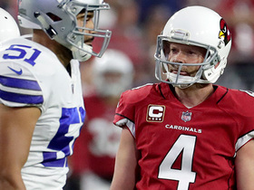 Phil Dawson has 36-yard field goal attempt tipped by Cowboys defender
