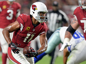 Watch: Carson Palmer fires it to Larry Fitzgerald for 24-yard gain