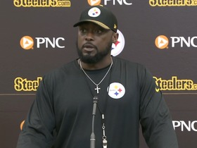 Watch: Tomlin: We're a group that's not interested in making statements. We're a group that's interested in making impacts