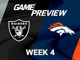 Watch: Raiders vs. Broncos Week 4 game preview
