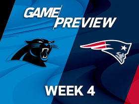 Watch: Panthers vs. Patriots Week 4 game preview
