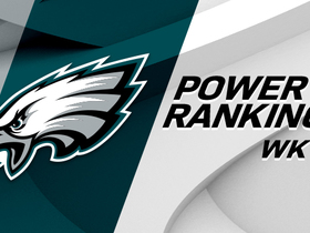 Watch: Eagles move to No. 6 in Power Rankings