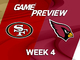 Watch: 49ers vs. Cardinals Week 4 game preview