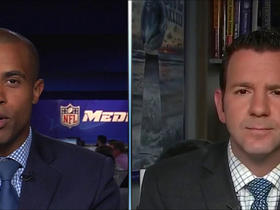 Rapoport on Ty Montgomery: 'We just know that he has broken ribs'
