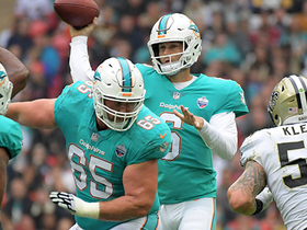 A.J. Klein sacks Jay Cutler for a loss of 8 yards