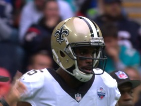 Drew Brees fires a strike to Brandon Coleman for 31 yards