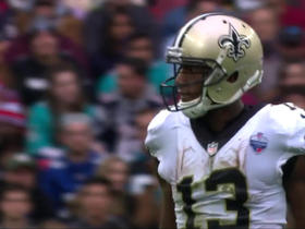 Michael Thomas evades defenders for 12 yards