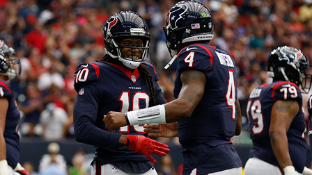 ca523a91 Houston Texans receiver DeAndre Hopkins gives ball to kid after 8 ...