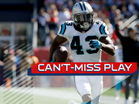 Can't-Miss Play: Fozzy Whittaker turns Cam's throw-away pass into beautiful 28-yard touchdown