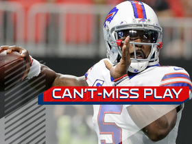 Can't-Miss Play: Tyrod Taylor rolls out, throws a 44-yard bomb to Charles Clay
