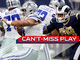 Watch: Can't-Miss Play: Dak miraculously escapes Donald, throws dart to Dez