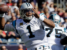 Cam Newton LAUNCHES to Kelvin Benjamin deep for 39 yards