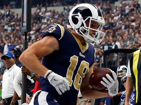 Goff fires strike down the middle to Cooper Kupp for 24-yard gain