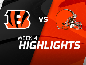 Bengals vs. Browns highlights | Week 4